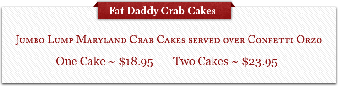 Fat Daddy Crab Cakes